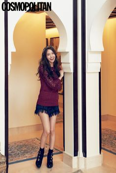 Girls' Generation's Yoona Cosmopolitan Korea Magazine July Issue '14