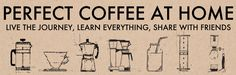 Perfect Coffee at Home ((IMMERSIVE iBOOK)) - How to Make Coffee by Michael Haft and Harrison Suarez