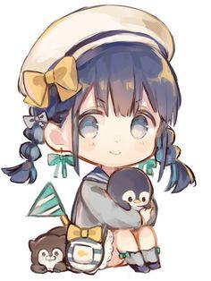 Kawaii no chibi Art Kawaii, Manga Kawaii, Loli Kawaii, Kawaii Chibi, Kawaii Anime Girl, Dibujos Anime Chibi, Cute Anime Chibi, Anime Girl Cute, Art Anime