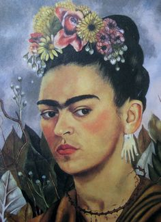 Frieda Kahlo Self Portrait Frida Kahlo Artwork, Kahlo Paintings, Frida Art, Diego Rivera, Statues, Freida Kahlo, Frida And Diego, Mexican Artists, Portraits