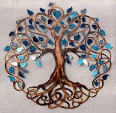 Tree of Life Infinity Tree Wall Decor by HumdingerDesignsEtsy