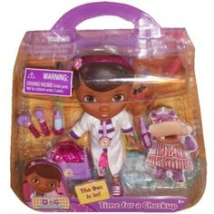 Doc McStuffins Action Figure - With this favorite kids character doctor kit your Mighty Girl will be sure to love hours of imaginative play.