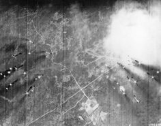 """"""" Death of a SAM site: A salvo of fragmentary rockets are fired at a highly camouflaged communist surface-to-air missile (SAM) site 13 miles northwest of the coastal city of Dong Hoi. The site was discovered the morning of October 12 [1966] by U.S...."""