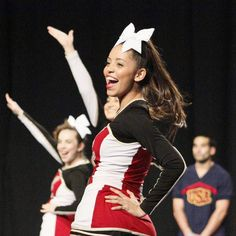 Cheer performing at Nationals in Anaheim @usacamps #cheer @alemanycheer