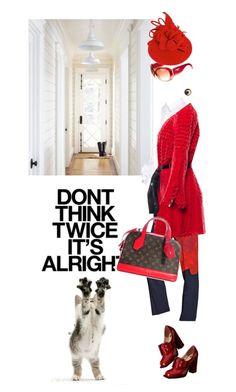All fine! by pensivepeacock on Polyvore featuring polyvore fashion style Simone Rocha Oscar de la Renta Sportmax Viktor & Rolf Louis Vuitton Chanel clothing