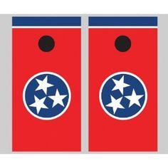 yeah TN flag cornhole