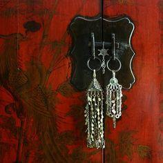 bling fo a chinese cabinet:) tribaljewelry afghan, turkish (ottoman) jewelry