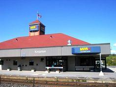 KINGSTON, Ontario Canada VIA Rail Station