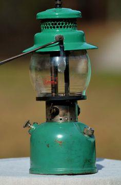 Vintage camping lantern.