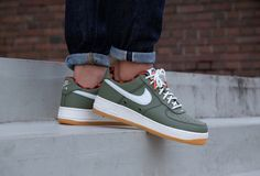 1f08b475e122 Air Force 1  07 Lv8 Urban Haze Sail-Team Orange