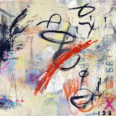 Abstract mixed media by Lorette C. Luzijic | Framed Prints and Stretched Canvas Available at Artistspot.org