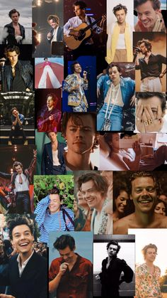 i could never just choose one picture so i made a collage of Harry Styles. i could never just choose one picture so i made a collage of Harry Styles. Harry Styles Baby, Harry Styles Pictures, One Direction Pictures, Harry Edward Styles, Louis Y Harry, Harry 1d, Desenhos One Direction, Desenho Harry Styles, Foto One