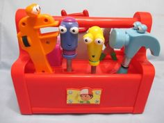 HANDY-MANNY-Large-Dancing-Singing-Musical-9-Long-TOOLBOX-7-Tools-WORKS-GREAT