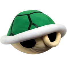 Super Mario Wii Koopa Shell Plush w/Sound Mario Wii, Mario Toys, Super Mario All Stars, New Super Mario Bros, Geeks, Crochet Lego, Mario Crafts, Mario Brothers, Old Video