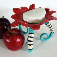 Whimsical soap dish