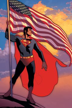Superman by Adam Hughes. Look at that hip all cocked out  he is fabulous!