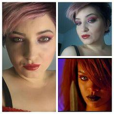 #rihanna #inspired #makeup