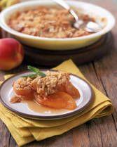 Fresh Peach Crisp Recipe