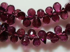 Garnet  Amazing Color Rhodorite Garnet Lovely Baby by TerraFinds, $25.90
