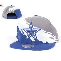 9034ed4bc18 Mitchell   Ness Dallas Cowboys Paintbrush Snapback Hat