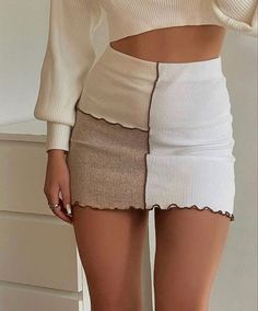 Looks Chic, Looks Style, Cute Casual Outfits, Pretty Outfits, Teen Fashion, Fashion Outfits, Womens Fashion, Fashion Sewing, Ootd Fashion