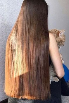 The Effective Pictures We Offer You About hair style for women best A quality picture can tell you m One Length Hair, Waist Length Hair, Brown Straight Hair, Long Brown Hair, Permed Hairstyles, Straight Hairstyles, Long Brunette Hair, Glam Hair, Silky Hair
