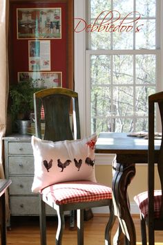 drop cloth pillow With dog paws instead