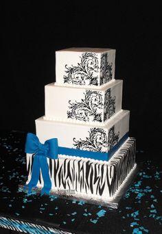 Wedding Cakes and Grooms Cakes - Wedding Cakes by Kim Payne