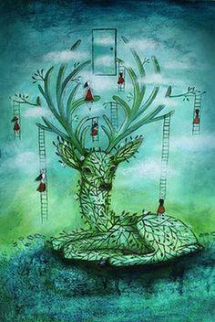 """""""deer to dream"""" - Artist - Amanda Cass -"""