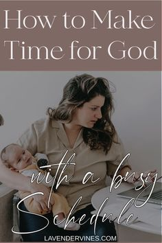 Feeling the overwhelm of everyday life? Not sure how your quiet time with Jesus can fit in? You're not alone! Check out these tips on how to make time for God with a busy schedule! Faith Hope Love, Faith In God, Praying For Your Family, Freedom In Christ, Fight The Good Fight, Losing Faith, Parenting Articles, Scripture Study, Christian Encouragement