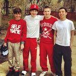 Alex Constancio   Austin Mahone   Zach Dorsey   Robert Villanueva <3 The crew!:)