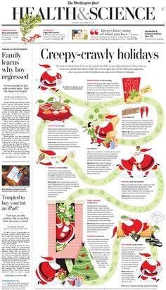 """Creepy-crawly holidays"" in the Washington Post"