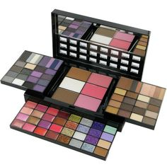 Nyx Professional Makeup Box of Smokey Collection Makeup Box, Beauty Makeup, Cosmetic Box, Nyx Cosmetics, Loreal, Beauty Hacks, Eyeshadow, Make Up, Collection