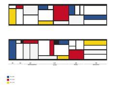 #mondrian #modernart #art #project #design #kitchen  Project of kitchen ispired by the art of Mondrian