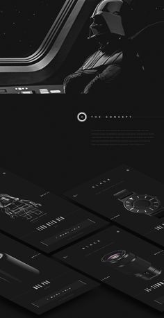 Black - application on Behance