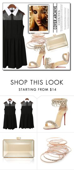 """Bez naslova #23"" by zehra-zehra-1 ❤ liked on Polyvore featuring Christian Louboutin, Judith Leiber and Red Camel"