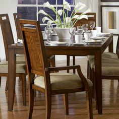 Homelegance 836C-96 Campton Dining Table, Tobacco Brown - Home Furniture Showroom