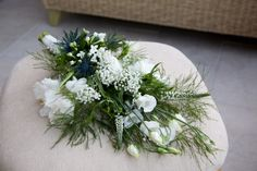 A stunning bouquet! White and romantic