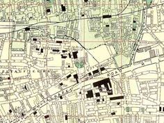 1952 map of East London (Thanks to Harry Mernick) London History, East London, Family History, Aunt, Novels, Diagram, Map, Location Map, Maps