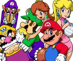 Mario Sports Mix by doctorWalui on DeviantArt