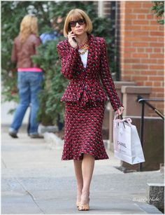 Anna Wintour's Look の画像|hide 「Celebrity Fashion Style」