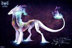 Opal Dragon- auction [closed] by ZerkWolf.deviantart.com on @DeviantArt