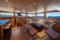 #Addicted2Luxury Sarissa Interior | Vitters Shipyard - Seatech Marine Products / Daily Watermakers