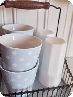 Greengate latte cups