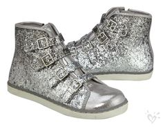 Glitter Ombre High Top Sneaker | Justice
