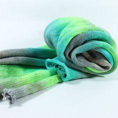 Hand Dyed Sock Yarn - Sock Blank - Superwash Merino Nylon - 463 yards - Glow Sticks