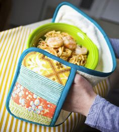 You'll be twice as protected against the overheated oven with this Double Trouble Potholder Tutorial.