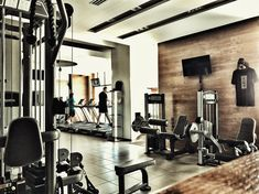 Cardio Room Cardio, Conference Room, Health Fitness, Gym, Club, Living Room, Places, Table, Furniture
