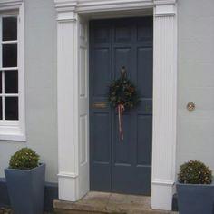 Farrow & Ball. Door in 'Downpipe'