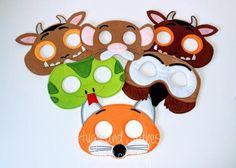 Animal Mask Gruffalo Mask Snake Mask Fox Mask Snake | Etsy Dinosaur Mask, Girl Dinosaur, Mouse Mask, Owl Mask, Animal Masks, Finger Puppets, Uk Shop, Embroidery Thread, Animales